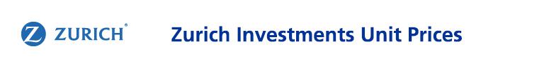 Zurich Investments Unit Prices
