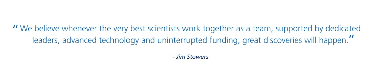 Quote of Jim Stowers