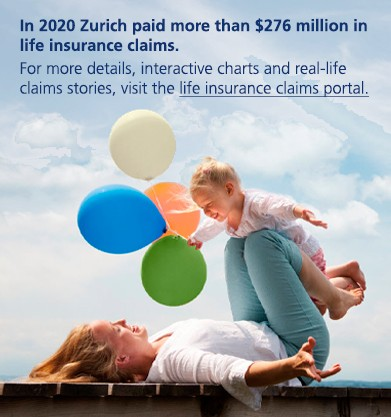 Visit our life insurance claims portal